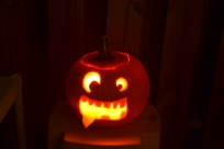 Now THAT'S a cool pumpkin