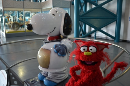 Snoopy is one of the official mascots of NASA