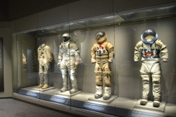 Look at all the different space suits!