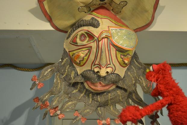 Looks like I came face to face with Blackbeard himself! AHHHHH!!