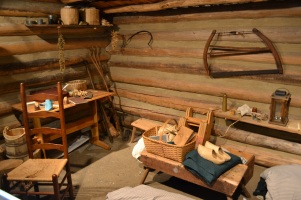 Seeing the way people lived a long time ago was so interesting!...Look at all that wood...a termite's dream!