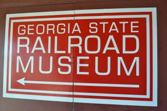 The Georgia State Railroad Museum has a lot of cool trains...I wish I could have taken a test drive