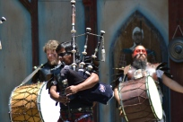 Bagpipes and drums, a match made in heaven