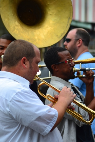 Great music is always around in New Orleans!