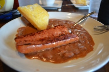 Red beans and rice...and sausage...yummmm