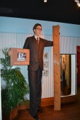 A wax statue of Robert Wadlow...he was 8 feet and 11 inches tall!