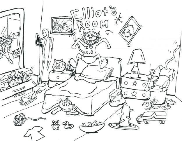 Elliot's Seek and Find